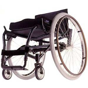 Non-Folding Wheelchair