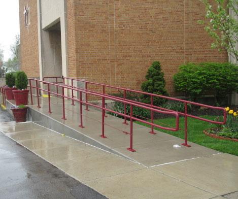 modular versus wooden concrete wheelchair ramps mobilitybasics ca