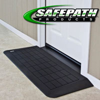 EZ Edge Recycled Rubber Ramp