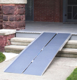 Multi-fold Wheelchair Ramp