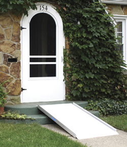 Solid Wheelchair Ramp