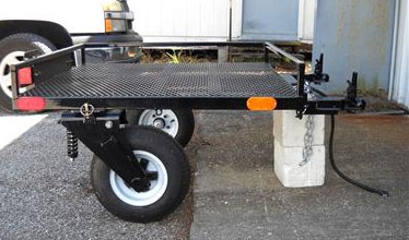 Handiback Wheelchair Trailer Image
