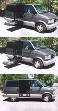 In-Floor Van Lift