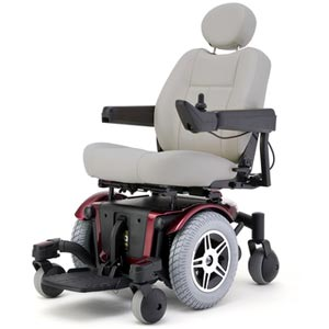Jazzy Mid Wheel Drive Power Wheelchair
