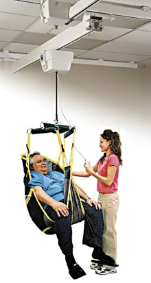 Medcare Bariatric Ceiling Track Lift
