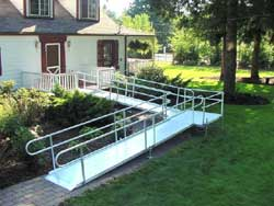 EZ-Access Modular Wheelchair Ramp