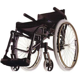 Invacare MVP Ultralight Folding Wheelchair