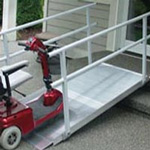 EZ Access Solid Wheelchair Ramp
