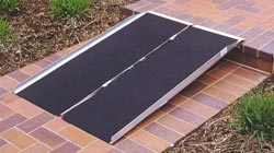 PVI Portable Suitcase Wheelchair Ramp