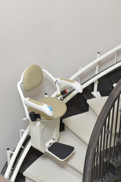 Spiral Stairlift