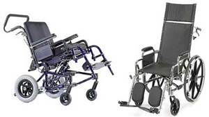 Tilting & Reclining Wheelchairs image