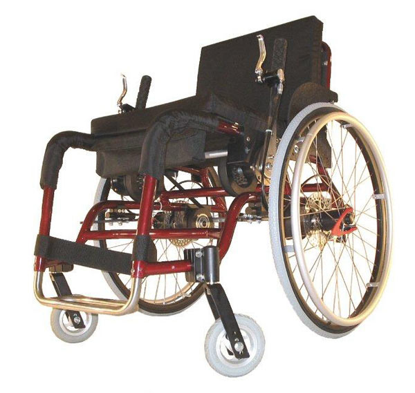 Red Willgo wheelchair image