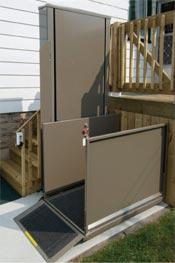 Standard Porch Lifts Vertical Platform Lifts