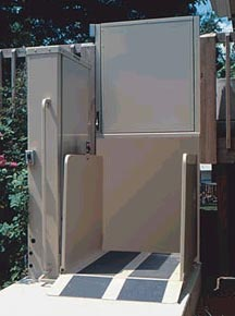Standard Porch Lifts Vertical Platform Lifts
