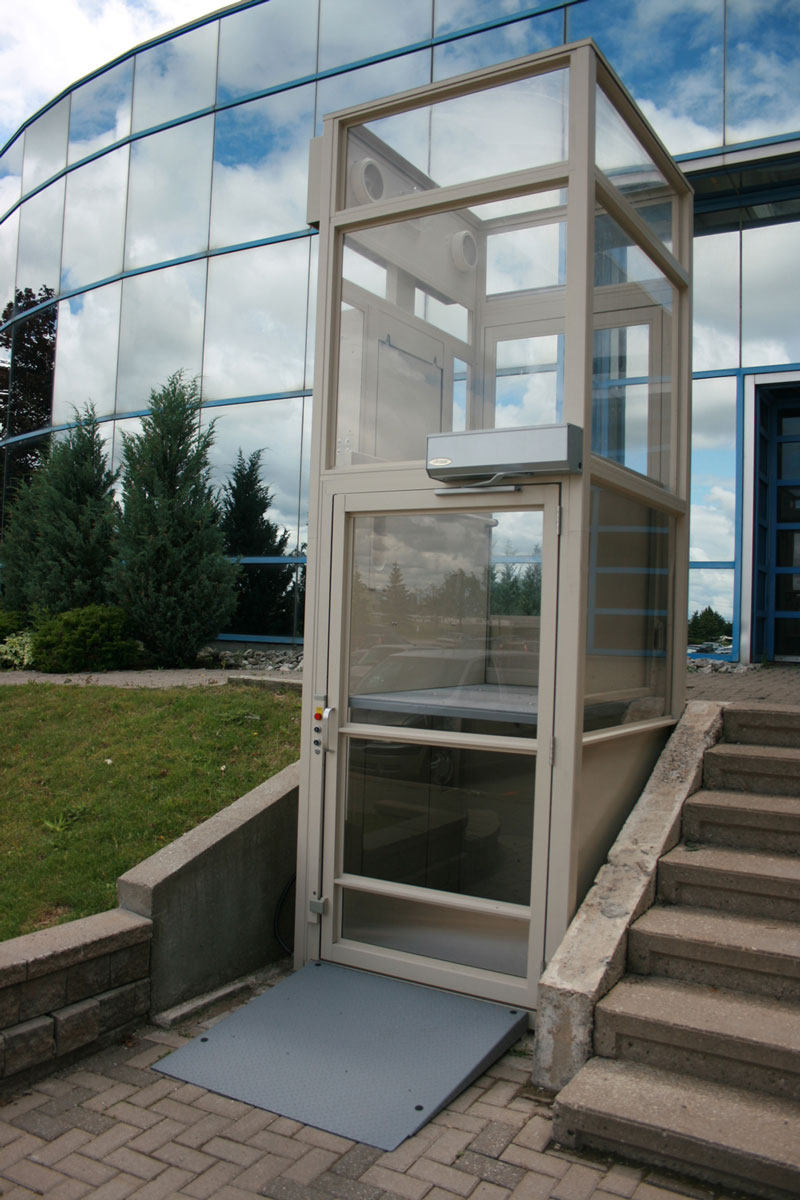 Standard Porch Lifts & Vertical Platform Lifts