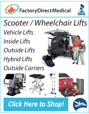 Scooter Lifts at Factory Direct Medical