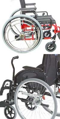 Drive cruiser ii standard hemi wheelchair | standard wheelchair.
